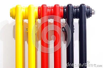 Multicolour radiator