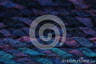 Multicolour yarn