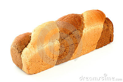 Multicoloured bread