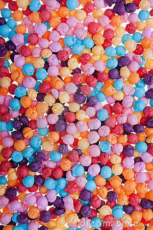 Multicoloured Confectionery Background texture
