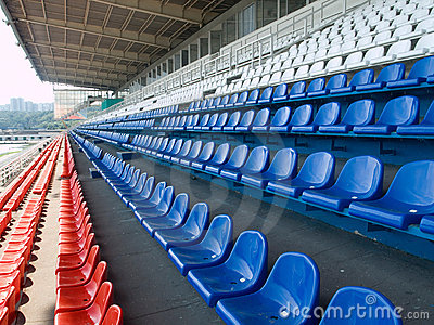 Multicoloured seats
