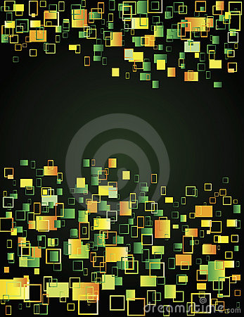 Multicoloured squares
