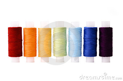 Multicoloured threads