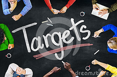 Multiethnic People Discussing About Targets