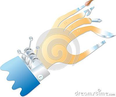 Multifunction hand