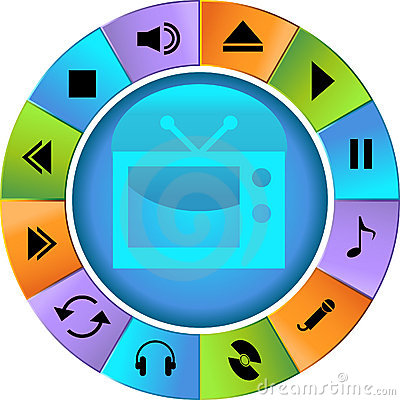 Multimedia Buttons - Wheel
