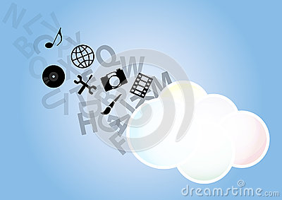 Multimedia cloud