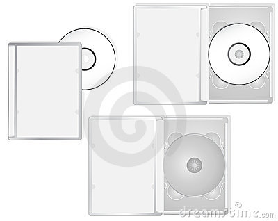 Multimedia DVD packaging