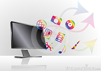 Multimedia monitor