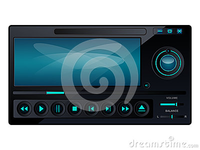 Multimedia player interface