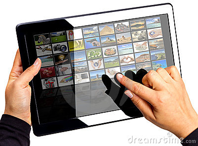 Multimedia touchpad