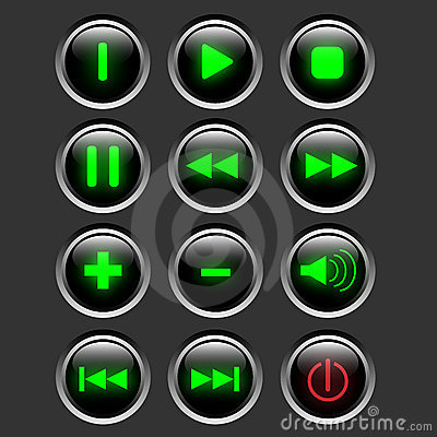 Multimedia web button