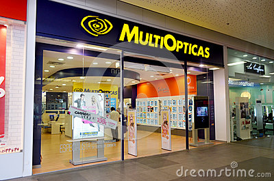 MultiOpticas opticians shop Editorial Photography
