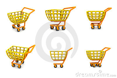 Multiple 3D Shopping Cart