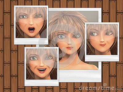 Multiple faces on photo cards