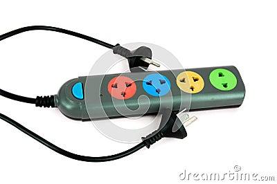 Multiple socket outlet,