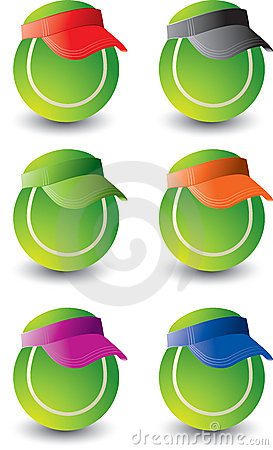 Multiple tennis balls