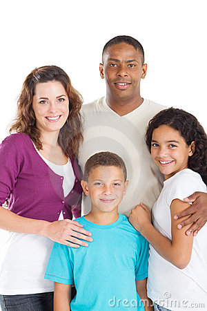 Multiracial family