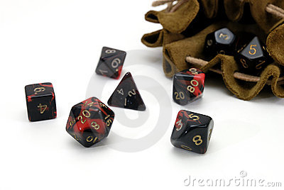 Multisided dice for gaming