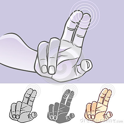 MultiTouch Hand Gestures For Smartphone, Tablet And Pad- Tap