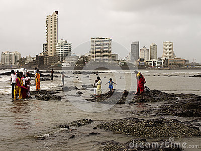 Mumbai coast Editorial Photography