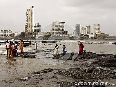 Mumbai coast Editorial Photography