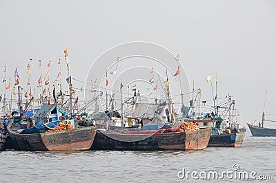 Mumbai Harbor (India)