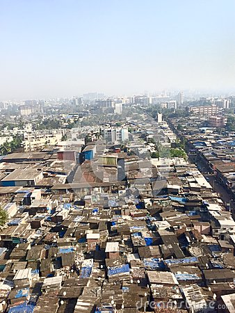 Free Mumbai S Slums Royalty Free Stock Photography - 56257537