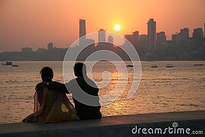 Mumbai sunset