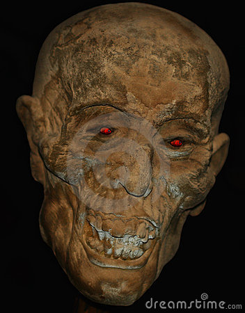 A Mummified Head
