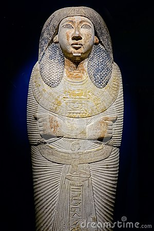 Free Mummy Coffin Lid Royalty Free Stock Photography - 119470127