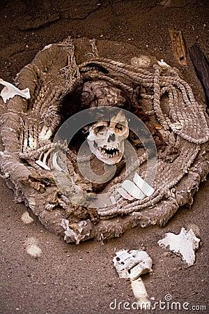 Mummy, Nazca, Peru