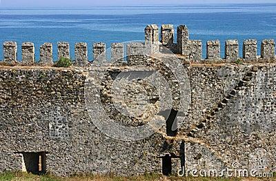 Mumure Castle -stairway