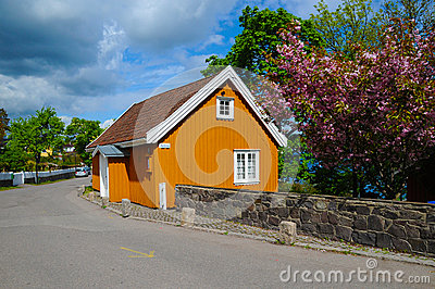 Munch s House Editorial Stock Image