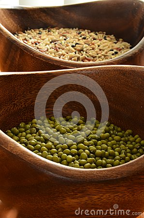 Mung Beans and Rice