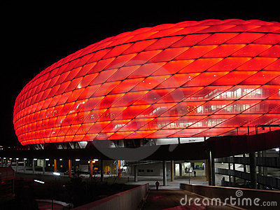 Munich Arena - new soccer stadium