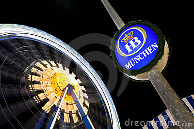 Munich Oktoberfest Editorial Stock Photo