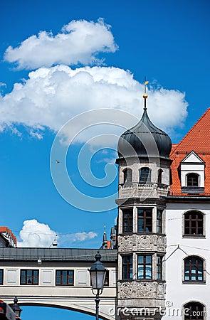 Munich old buildings