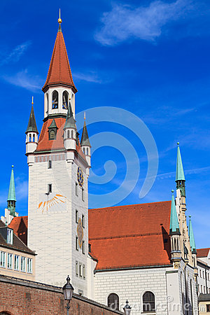 Munich, Old Town Hall with Tower, Bavaria