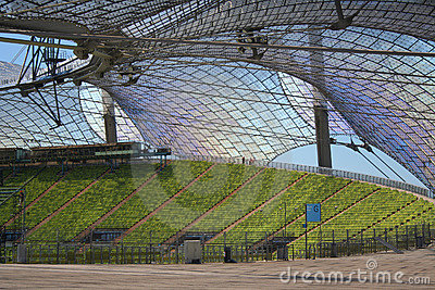 Munich Olympic Stadium Editorial Stock Photo
