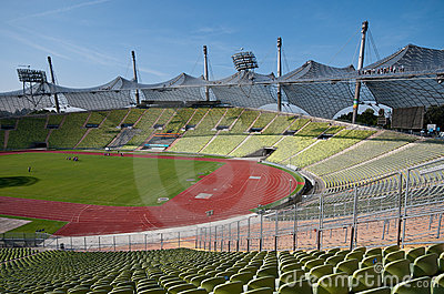 Munich Olympic stadium Editorial Image