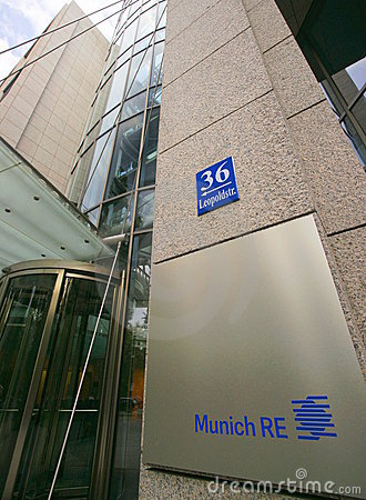 Munich Re Editorial Photo