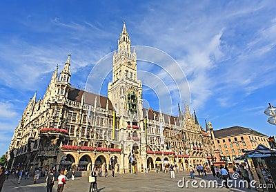 Munich: tourists wondering around Editorial Photography