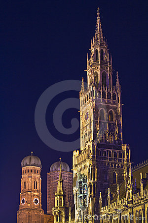 Munich  Towers