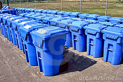 Municipal Recycling Refuse Containers