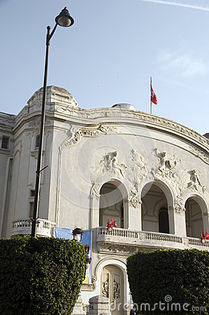 The Municipal Theater  Avenue Habib Bourguiba Tu