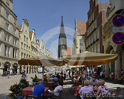 Munster, Germany Editorial Stock Image