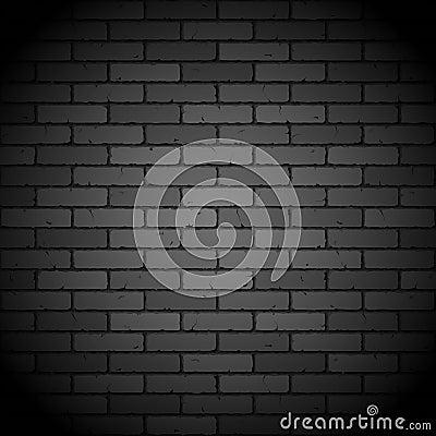 Mur de briques noir photo stock image 22610180 - Mur brique noir ...