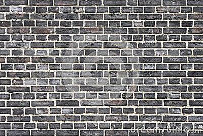 Mur de briques noir image stock image 6263721 - Mur brique noir ...