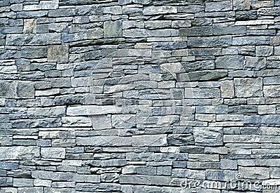 Mur De Schiste De Bluestone Image Libre De Droits Image